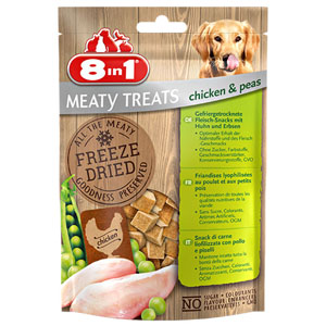 Pochoutka 8in1 Freeze Dried Chicken & Peas 50g