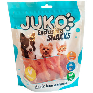 Juko Exclusive Snacks SOFT Chicken Jerky 250g