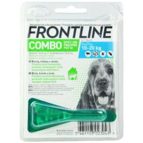 Frontline Combo Spot-On Dog M (pes 10 - 20kg) 1x1,34ml