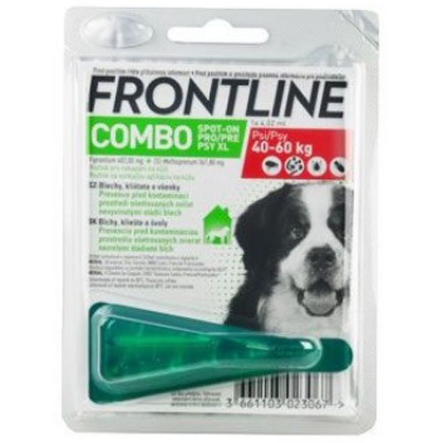 Frontline Combo Spot-on Dog XL (pes 40 - 60kg) 1x4,02ml