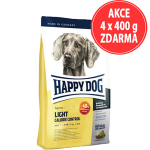 Happy Dog Light Calorie Control 12,5 kg (AKCE 4X400g ZDARMA)
