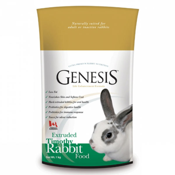 GENESIS TIMOTHY RABBIT FOOD 5 kg