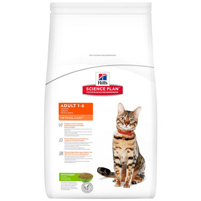 Hill's Feline Dry Adult Rabbit 10kg