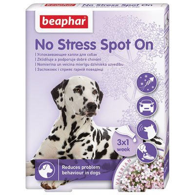 Beaphar No Stress Spot On pro psy 3x0,4ml