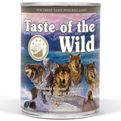 Taste of the Wild Wetlands Canine 390g