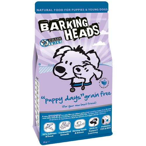 Barking Heads Puppy Days Grain Free 2 kg