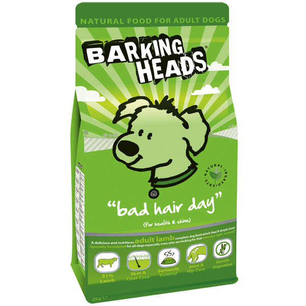 Barking Heads Bad Hair Day (Adult Lamb) 2 kg