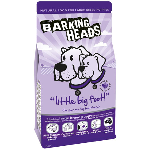 Barking Heads Little Big Foot (Large Breed Puppy) 18 kg