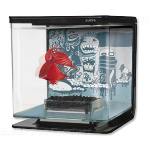 Akvárium Marina Betta Kit Wild Things 2 l