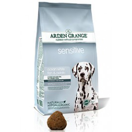 Arden Grange Dog Adult Sensitive White Ocean Fish & Potato 2 kg