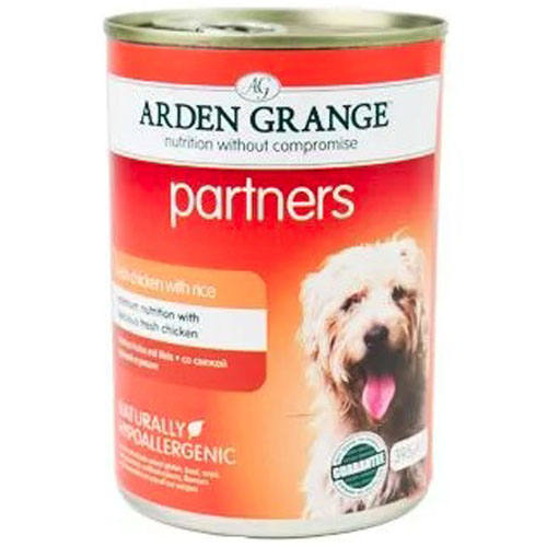 Arden Grange Partners Fresh Chicken, Rice & Vegetables 395g