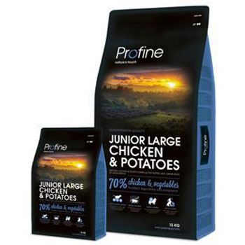 Profine Dog Junior Large Breed Chicken & Potatoes 3kg