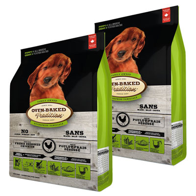 Oven-Baked Tradition Puppy Medium Breed 2 x 11,34kg