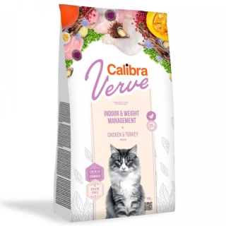 Calibra Cat Verve GF Indoor&Weight Chicken 3,5 kg