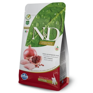 N&D PRIME CAT KITTEN Chicken & Pomegranate 10 kg