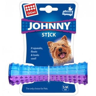 Aport GiGwi Johnny Stick Small modro/purpurová 14,5x4,2x4,2cm