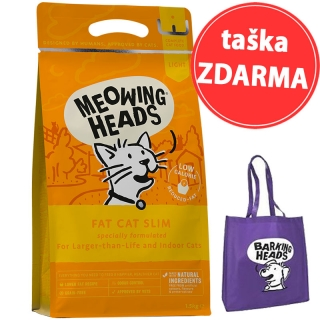 MEOWING HEADS Fat Cat Slim 1,5kg + taška ZDARMA