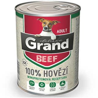 GRAND Deluxe Adult 100% hovězí 400 g
