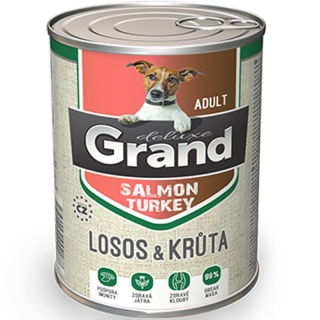 GRAND Deluxe Adult 100% losos 400 g