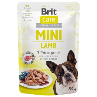 Brit Care Dog Mini Lamb fillets in gravy 85 g