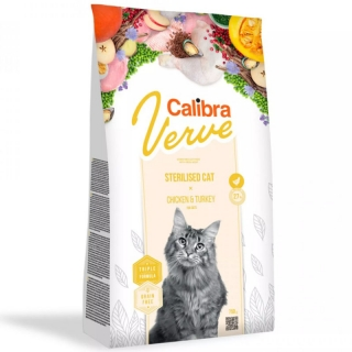 Calibra Cat Verve GF Sterilised Chicken&Turkey 750 g