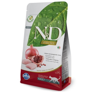 N&D PRIME CAT Adult Chicken & Pomegranate 10 kg