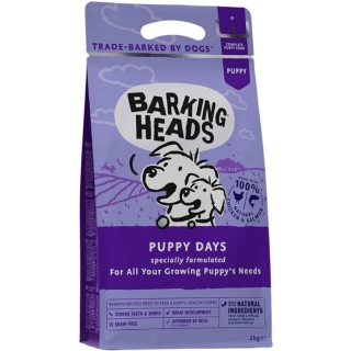 BARKING HEADS Puppy Days 2 kg